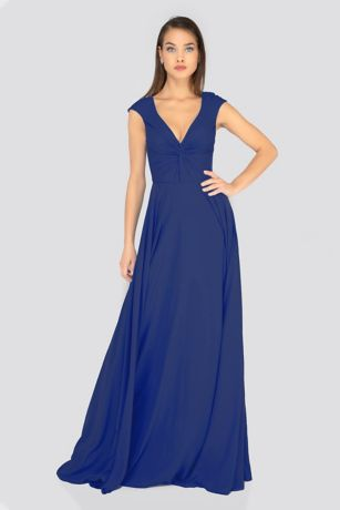 Long A-Line Dress - Terani Couture