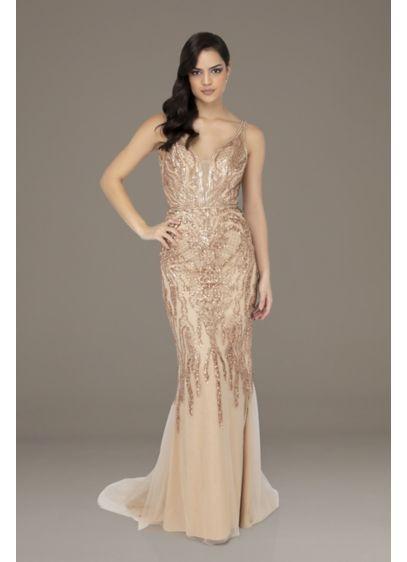 Long 0 Sleeveless Formal Dresses Dress - Terani Couture