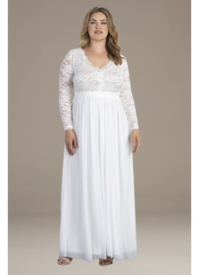 Everlasting Love Plus Size Wedding Dress - All eyes will be on you in this