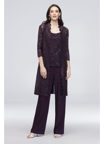 0bcd0763ead Long Jumpsuit Jacket Cocktail and Party Dress - RM Richards