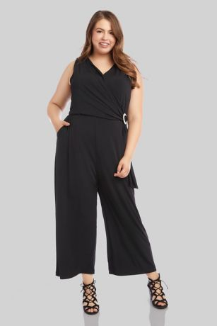 Long Jumpsuit Tank Dress - Karen Kane