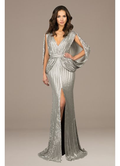 Long 0 Capelet Formal Dresses Dress - Terani Couture