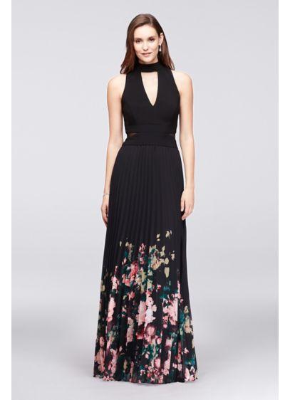 Long A-Line Halter Formal Dresses Dress - Xscape