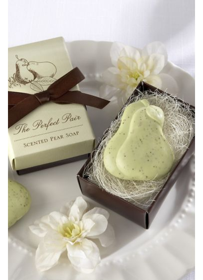 The Perfect Pair Scented Pear Soaps - Wedding Gifts & Decorations
