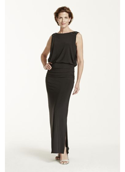 Long Sheath Tank Cocktail and Party Dress - Nightway