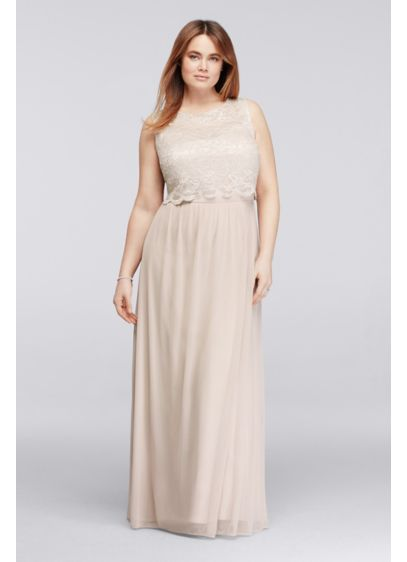 Long A-Line Tank Cocktail and Party Dress - Nightway