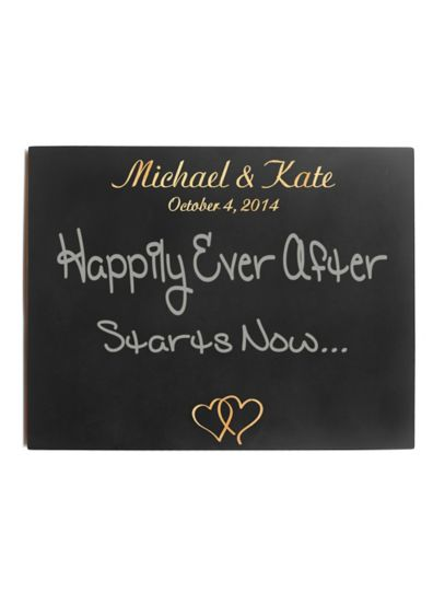 Personalized Wedding Chalkboard Sign - Wedding Gifts & Decorations