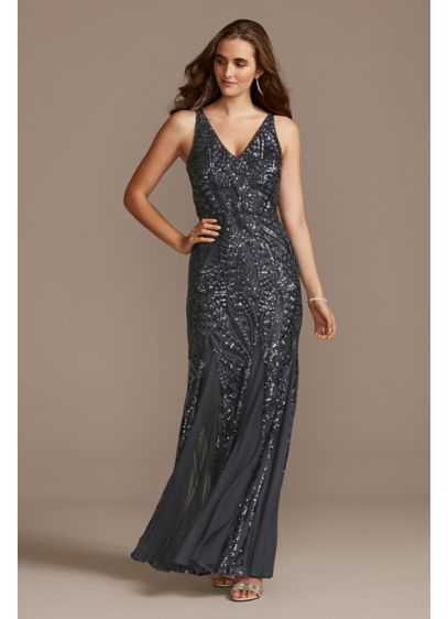 Long Mermaid/ Trumpet Tank Formal Dresses Dress - Nightway