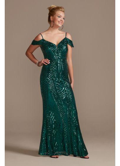 Long Sheath Off the Shoulder Formal Dresses Dress - Nightway