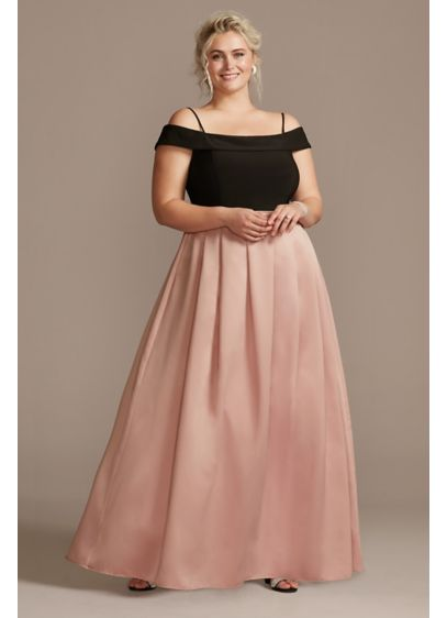 Long Ballgown Off the Shoulder Formal Dresses Dress - Nightway