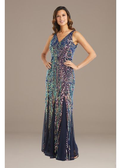 Long Mermaid / Trumpet Tank Formal Dresses Dress - RM Richards