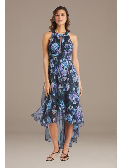 High Low 0 Sleeveless Dress - RM Richards