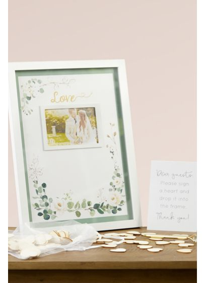 Botanical Garden Wedding Guest Book Alternative - Ask your guests to sign their names or