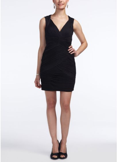 Short Sheath Tank Cocktail and Party Dress - Hailey by Adrianna Papell