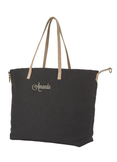 Personalized Overnight Tote - Wedding Gifts & Decorations