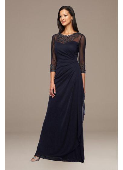 Long Long Sleeves Formal Dresses Dress - Alex Evenings