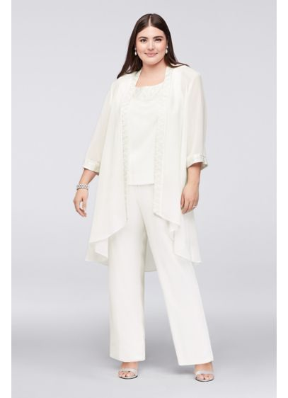 Dressy Pant Suit With Long Jacket - Equata.Org The Best Jacket 2018