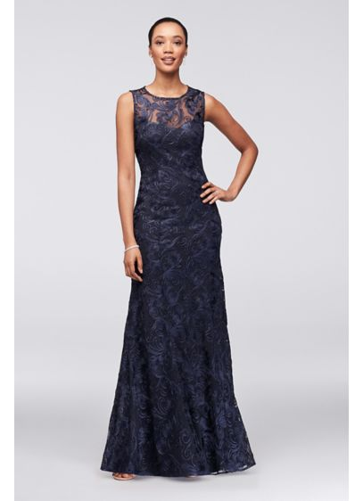 Long A-Line Cap Sleeves Formal Dresses Dress - Marina