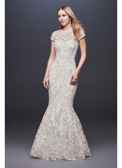 dfa947ea2e7 Long Mermaid  Trumpet Wedding Dress - DB Studio