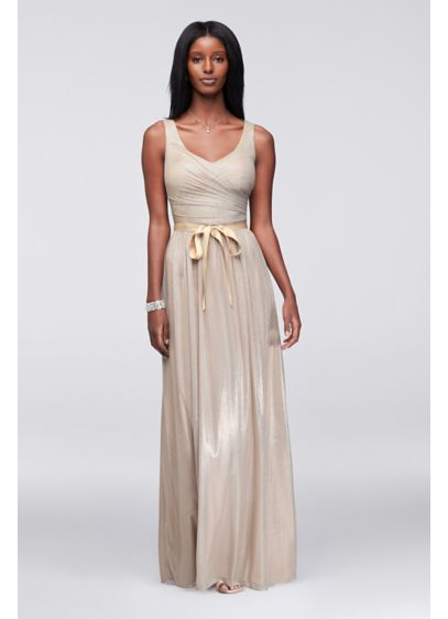 Long A-Line Tank Formal Dresses Dress - Marina