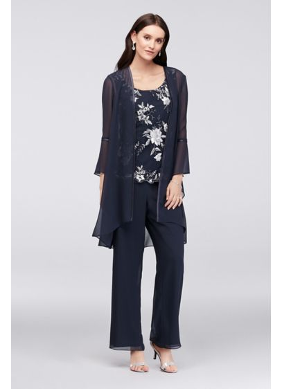 be1ff49bd7e61 Long Jumpsuit Jacket Cocktail and Party Dress - Le Bos