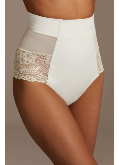 Squeem Ivory (Squeem Brazilian Flair Mid Waist Brief)
