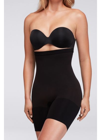 Spanx High Waisted Power Short - Wear this full-coverage shaper as underwear for all