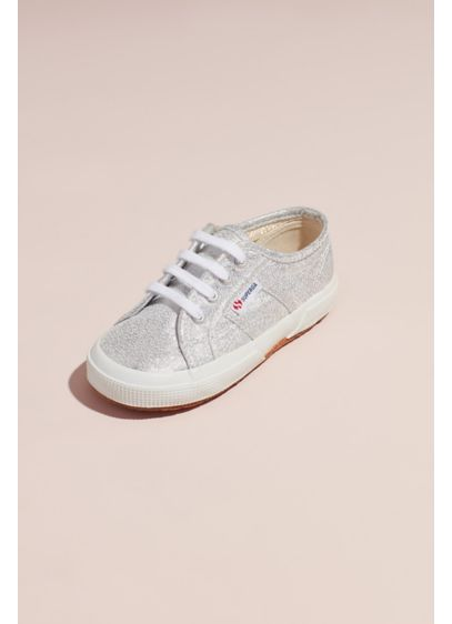 Girls Superga Lamej 2750 Canvas Sneakers - She'll sparkle with every step in these glittering,