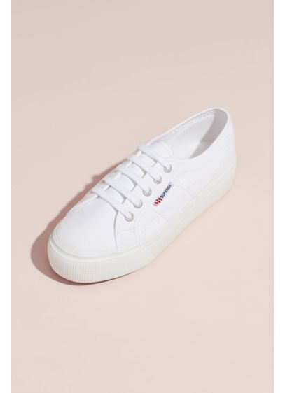 Superga Acotw 2790 Canvas Platform Sneakers - Add some pep to your step...literally. A fun