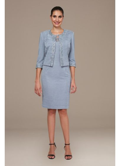 Short Sheath 3/4 Sleeves Cocktail and Party Dress -