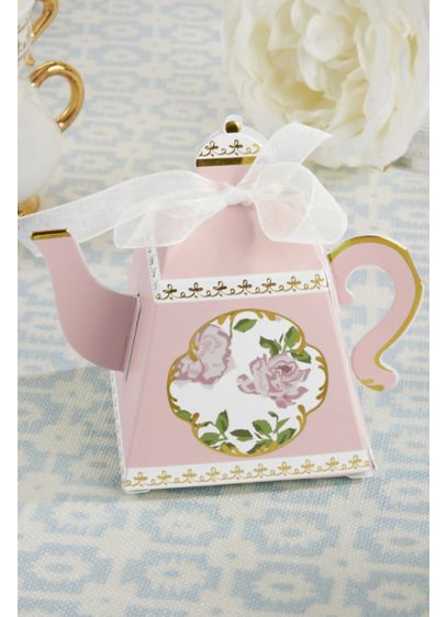 Teapot Favor Boxes - Wedding Gifts & Decorations