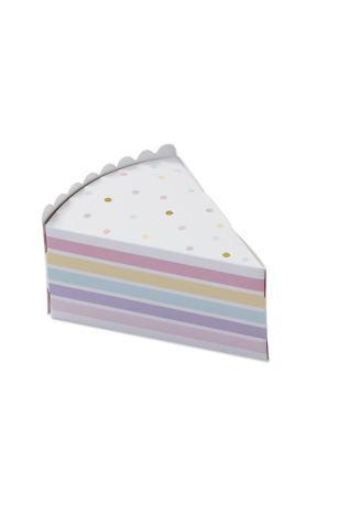 Cake Slice Favor Box Set of 24 | David's Bridal | Tuggl