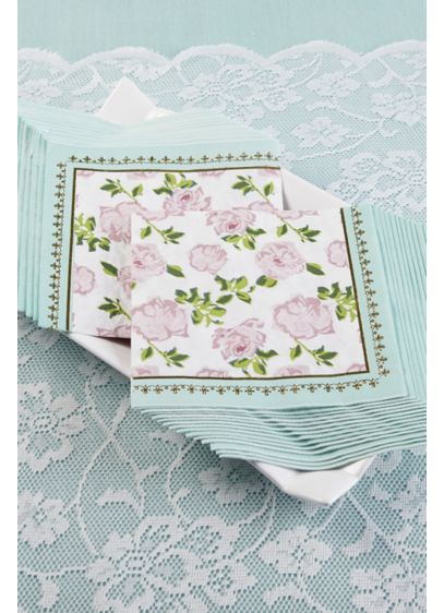 Tea Time Whimsy Paper Napkins - Wedding Gifts & Decorations