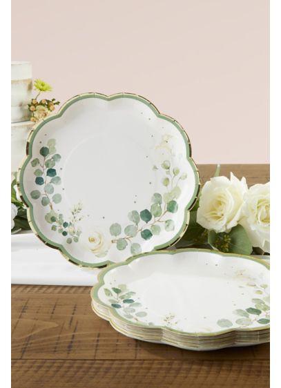 Botanical Garden 9-Inch Paper Dinner Plates - Wedding Gifts & Decorations