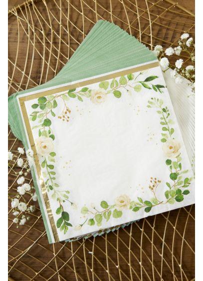 Botanical Garden Paper Napkins - A lovely set of botanical paper napkins for