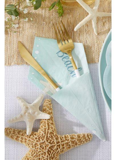 Beach Party Paper Napkins - Set of 120 Paper 6.5