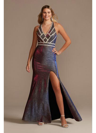 Long Sheath Halter Formal Dresses Dress - Blondie Nites