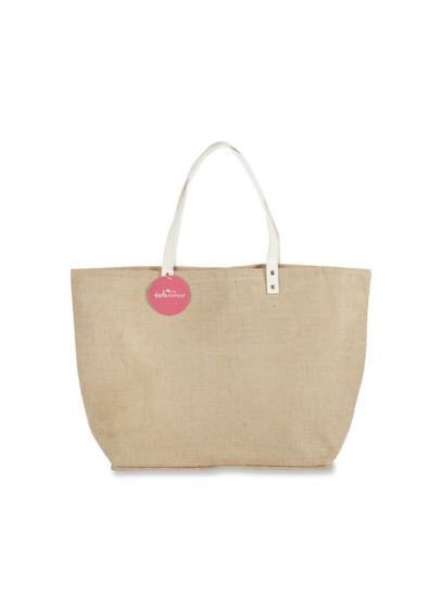 Natural Jute Tote Bag - Wedding Gifts & Decorations