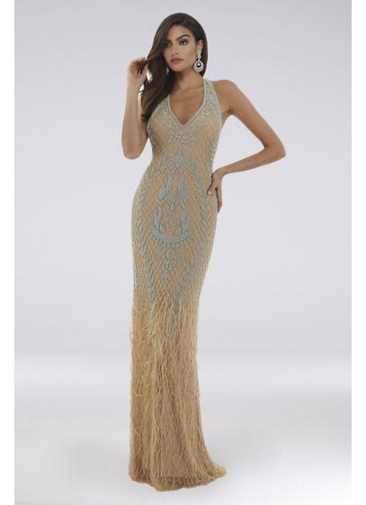 Long Mermaid/ Trumpet Halter Formal Dresses Dress - Lara
