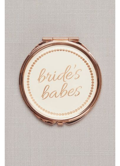 Bride's Babes Double-Mirror Compact - Wedding Gifts & Decorations