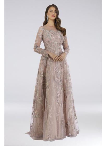 Long Ballgown Long Sleeves Formal Dresses Dress -