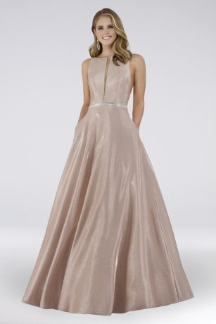 Long Ballgown Sleeveless Dress - Lara
