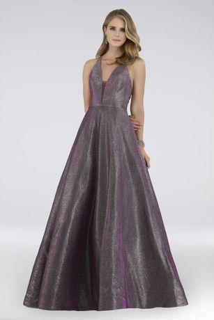 Long Ballgown Tank Dress - Lara