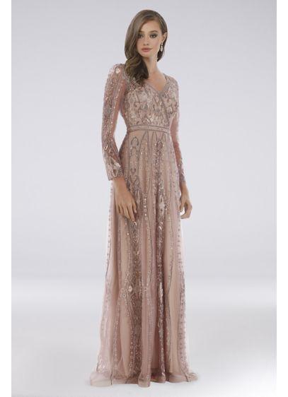 Long Long Sleeves Formal Dresses Dress - Lara