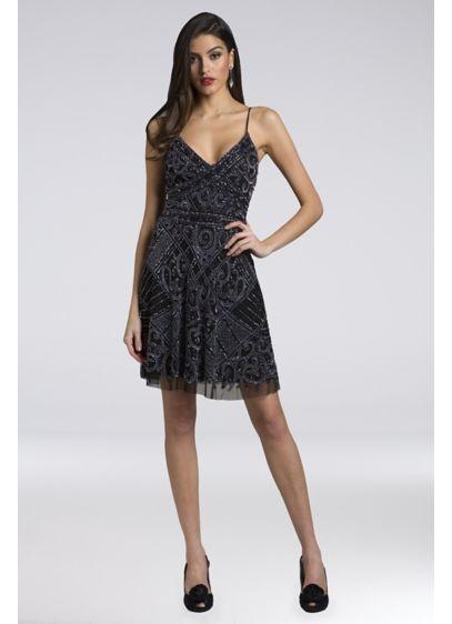 Short A-Line Boho Wedding Dress - Lara