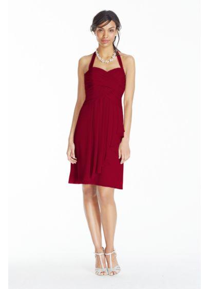 Short Sheath Halter Dress -
