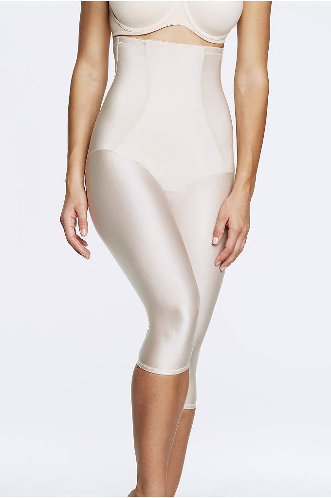 Dominique Claire Medium Control Bodysuit - Featuring concealed support panels, this ultra-comfortable, capri-style body