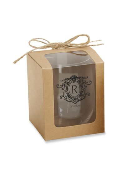 (Kraft Stemless Wine Box Set of 12)