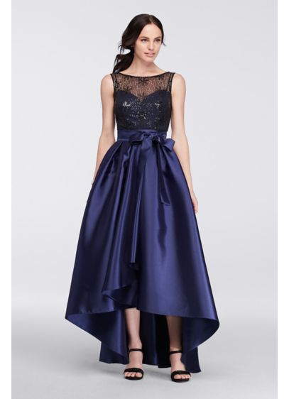High Low Ballgown Tank Cocktail and Party Dress - Ignite