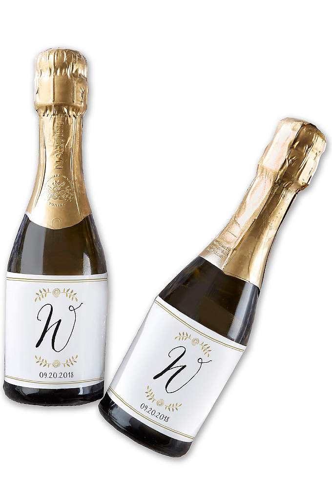 Personalized Classic Mini Wine Labels - Include these Personalized Classic Mini Wine Labels on